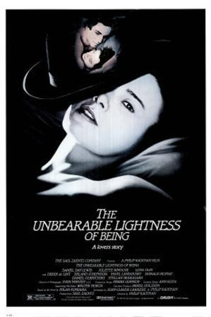 Unbearable Lightness of Being MOVIE POSTER Day-Lewis