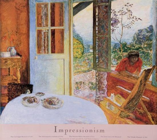 Pierre Bonnard Diningroom In The Country Art Poster Print Prints At AllPosters