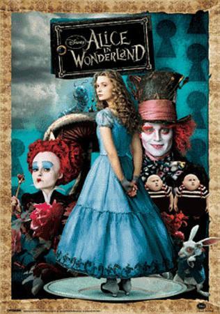 Alice in Wonderland Movie (Group) 3-D Poster Lenticular Print