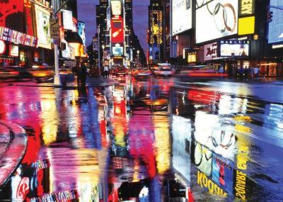 Times Square New York - City Color Reflections Huge Poster
