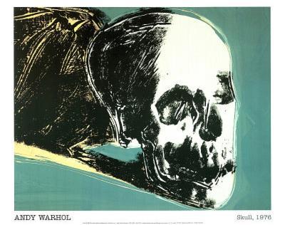 Andy Warhol (Skull) Art Poster Print