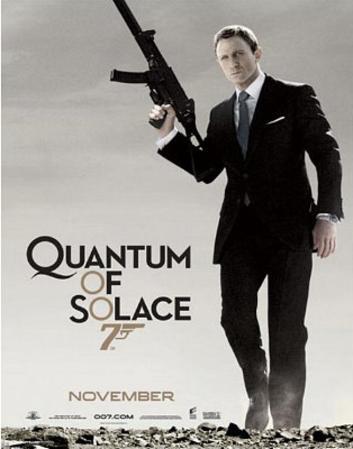 James Bond, Quantum of Solace, Movie Poster Print