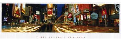 Times Square (New York City, Lights) Art Poster Print