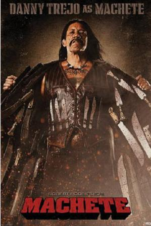 Machete Movie Danny Trejo as Machete Poster Print