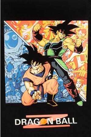 Dragon Ball Z Goku Blacklight TV Poster Print