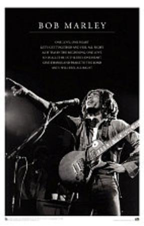 Bob Marley (One Love) Music Poster