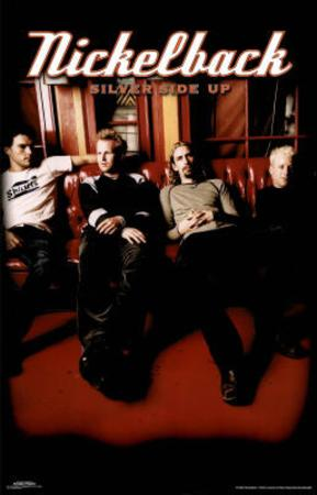 Nickelback Silver Side Up Group Music Poster Print