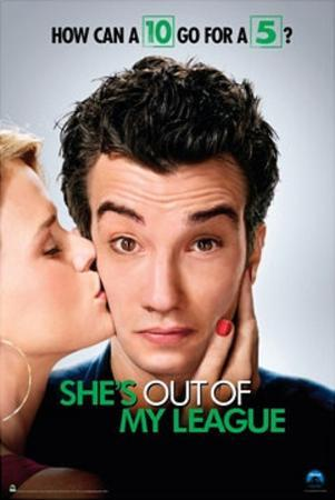 She's Out of My League Movie (Kiss) Poster Print