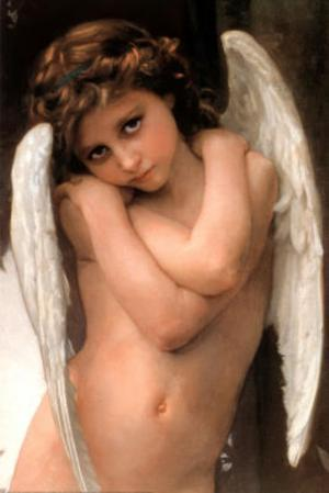 William Adolphe Bouguereau (Cupidon) Art poster Print