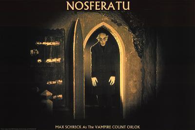 Nosferatu Movie Max Schreck as the Vampire Count Orlok Poster Print