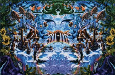 Richard Biffle Octopus Garden Art Poster Print