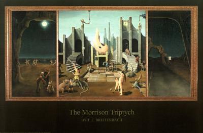 T.E. Breitenbach (The Morrison Triptych) Art Poster Print