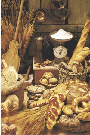 Brotstube (Bakery Photograph) Art Poster Print