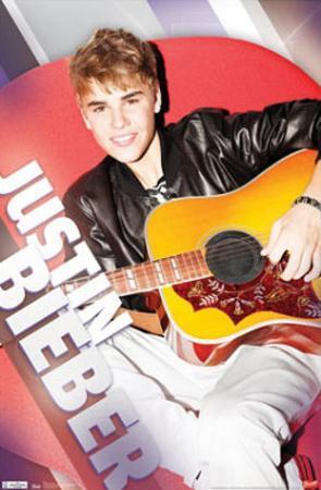 Justin Bieber Relaxing Music Poster Print