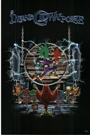 Insane Clown Posse (Wheel) Music Poster Print