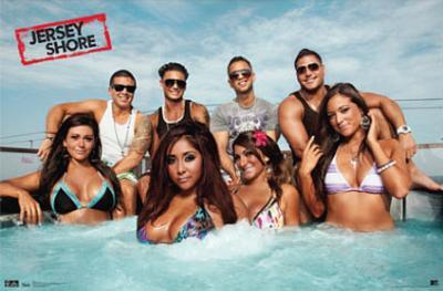 Jersey Shore Group Cast Hot Tub Season 3 TV Poster Print