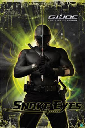 G.I. Joe Movie (Snake Eyes) Poster Print