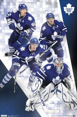 Toronto Maple Leafs Collage Sports Poster Print