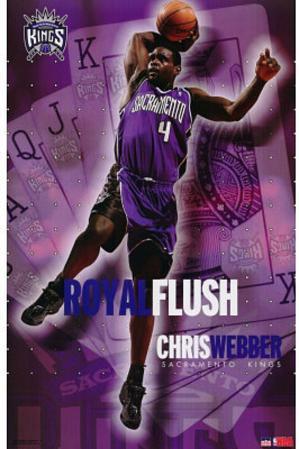 Chris Webber Sacramento Kings NBA Basketball POSTER