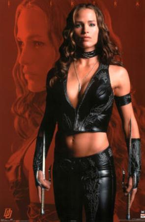 Elektra Movie Jennifer Garner Poster Print