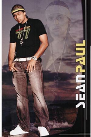 Sean Paul - Hip-Hop Artist, Music Poster