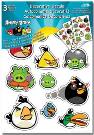 Angry Birds Decorative Decals