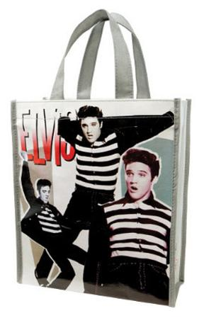 Elvis Presley Small Recycled Shopper