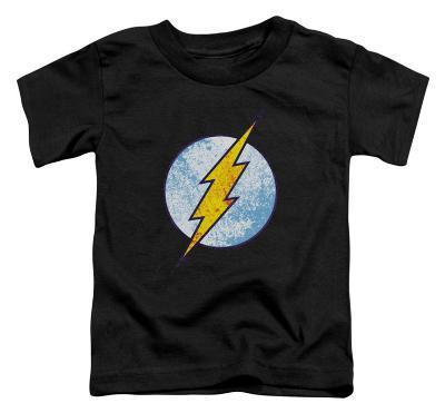 Toddler: The Flash - Flash Neon Distress Logo