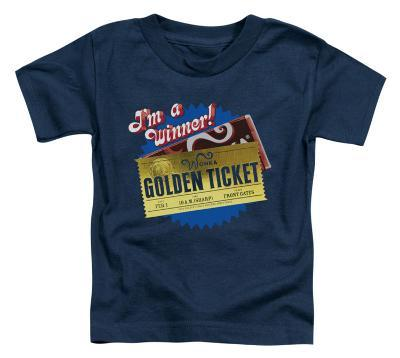 Toddler: Charlie and the Chocolate Factory - Golden Ticket