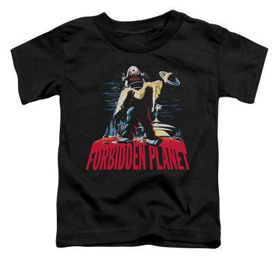 Toddler: Forbidden Planet - Robby and Woman