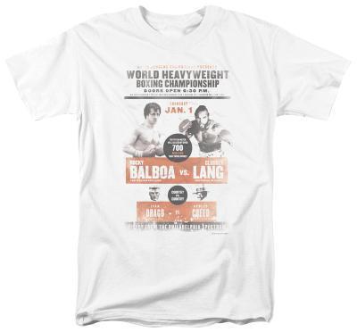 Rocky - Rocky vs Clubber Poster