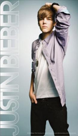 Justin Bieber Mini Poster Stickers