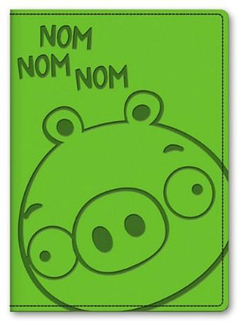 Angry Birds Leatherette Pig Journal Green
