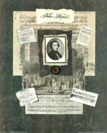 Linda Jade Charles Frederic Chopin Art Print POSTER