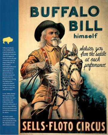 Buffalo Bill (Wild West Show) Art Print Poster