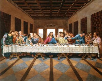 Leonardo Da Vinci The Last Supper Art Print Poster