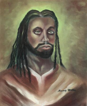 Rasta Jesus Christ Rastafarian Art Print POSTER high