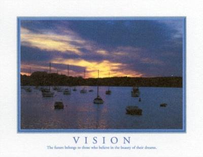 Motivational Vision The Future Belongs Art Print Poster
