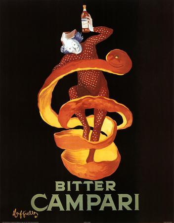 Leonetto Cappiello Bitter Campari Vintage Ad Art Print Poster