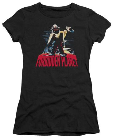 Juniors: Forbidden Planet - Robby and Woman