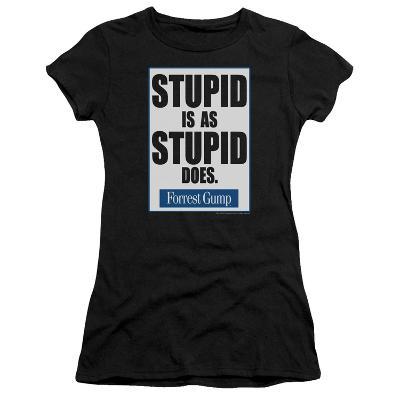 Juniors: Forrest Gump - Stupid Is