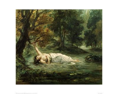 Death of Ophelia, 1859