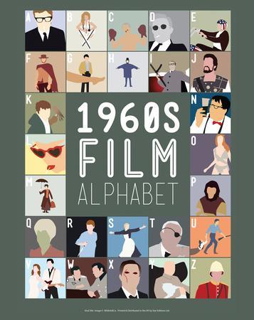 1960s Film Alphabet - A to Z