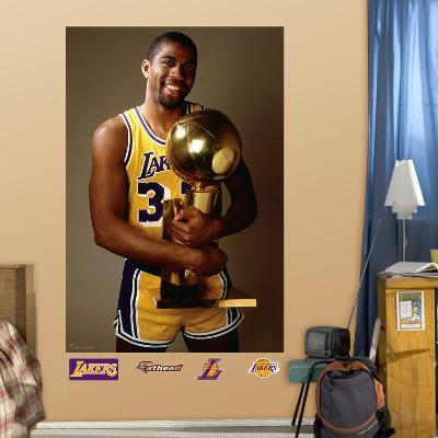 Magic Johnson Trophy Mural