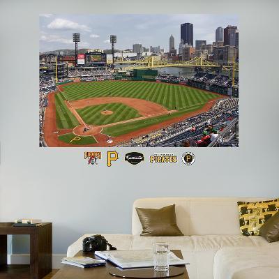 Pittsburgh Pirates PNC Park Stadium Mural