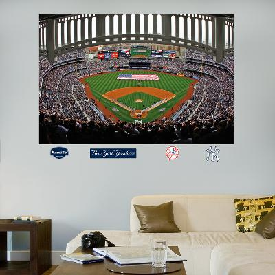 New York Yankees Flag Stadium Mural