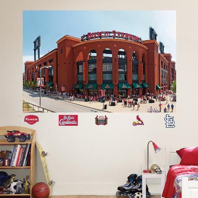 St. Louis Cardinals Busch Stadium Exterior Mural