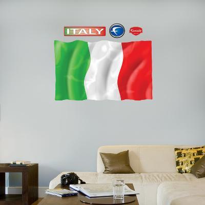 Italy Flag - logo sized