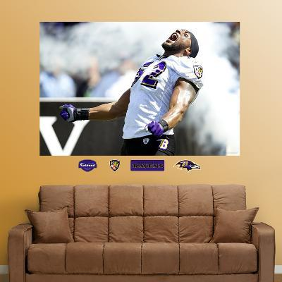 Ray Lewis Entrance Mural