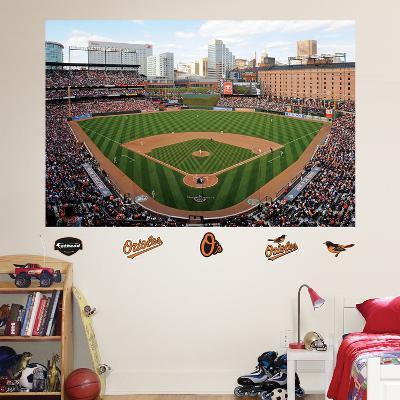Baltimore Orioles Oriole Park at Camden Yards Stadium Mural